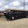 "2016 Neckover 6'8""x32' Gooseneck Livestock Trailer, Black with Buck Tarp, 3-7k Torsion axles, Brakes on all wheels, 3""x5""x5/16"" Angle Frame, 10ply ST235/80 R16 Radial tires on silver mod wheels, Spare Tire Mounted on the Neck, 1'x3"" Rectangular Tubing Sides, Flush mounted LED Lights, Butterfly Gates, 3 Cut Gates with Slam Latches, 2 5/16"" Adjustable GN Coupler, 10"" Channel Neck, Empty Weight 5,700 lbs. lifetime rubber floor, full walk out escape door on Drivers side.   In stock   $14,000.00"